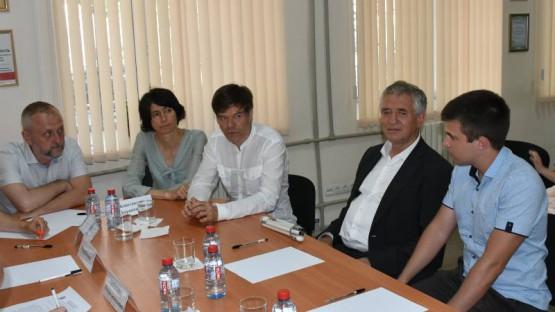 Иностранные участники встречи