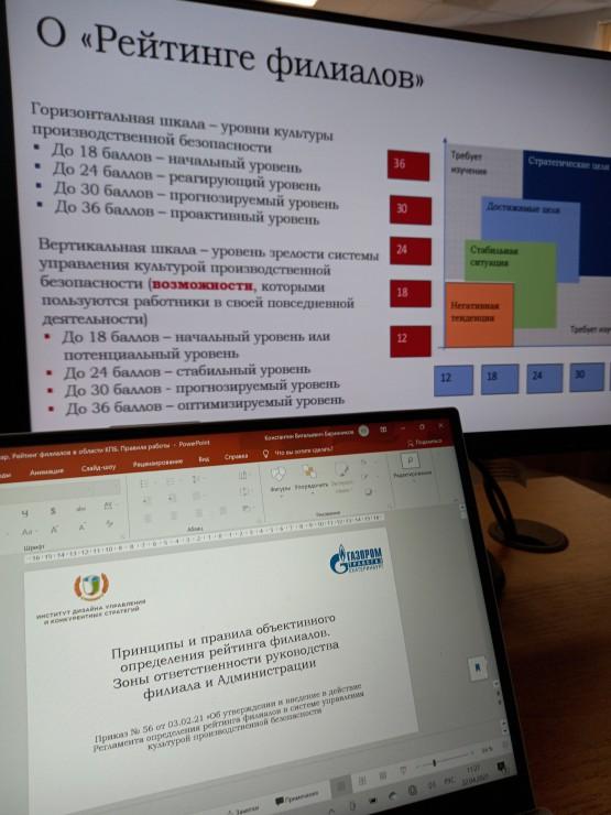 Соответствие требованиям Стратегии развития системы управления производственной безопасностью (приказ ПАО «Газпром» №368 от 09.09.2020) и стандарта ISO 45001-2018